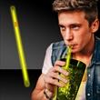 "Yellow Supreme Glow 9"" Straws"