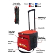 36 CAN COLLAPSIBLE COOLER ON WHEELS - 36 CAN COLLAPSIBLE COOLER BAG ON WHEELS