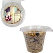 Round Safety Fresh Container With Granola - Safety Fresh Round Container with granola.