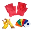 Fingerless Cheering Gloves With A Plastic Disk/Clapper Glove - Fingerless Cheering Gloves With A Plastic Disk/Clapper Gloves.