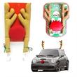 Christmas Car Deer Antler