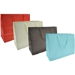 Euro Tint Totes - Made from uncoated (non-laminated) paper eurototes that are tinted 100% on the exterior and interior of the bag.
