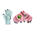 Capacitive Acrylic Cheering Gloves With Plastic Disk/Clapper - Touch Screen Cheering Gloves With A Plastic Disk/Clapper.