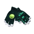 Knitte Touch Screen Cheer Gloves With A Plastic Disk Sound - Touch Screen Cheering Gloves With A Plastic Disk/Clapper.