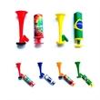 Custom Plastic Super Blast Pump Air Horn for Party Events - Plastic Super Blast Pump Air Horn for Cheering Activity.