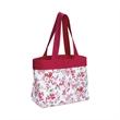 Floral Beach Tote Bag - Floral beach tote bag.