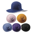 Girl's Wide Brim Fashion Hat - Girl's wide brim fashion hat.