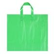 "Ameritotes Plastic Bag (12"" x 10"" x 4"") - Hi-Density film tote bag with matching soft loop handles, 12"" x 10"" x 4""."
