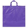 "Ameritotes Plastic Bag (16"" x 15"" x 6"") - Bag with matching soft loop handles, 16"" x 15"" x 6""."