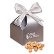 Extra Fancy Jumbo Cashews in Silver Gift Box