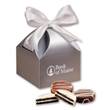 Chocolate Covered Oreos in Silver Gift Box