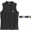 Workwear Pocket Sleeveless T-Shirt - Sleeveless pocket t-shirt.