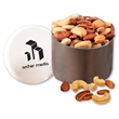 Deluxe Mixed Nuts in Designer Tin - designer tin filled with deluxe mixed nuts