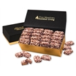 English Butter Toffee in Black & Gold Gift Box - Black and gold gift box filled with english butter toffee