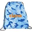 Camo Oriole Drawstring Cinch Backpack