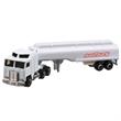 Die Cast White Tanker Trailer Truck