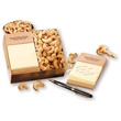 Self-Adhesive Note Holder with Extra Fancy Jumbo Cashews