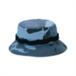 Washed Camouflage Twill Hunting Hat - Washed camouflage twill hunting cap.