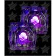 LED Light Up Ice Cubes - Purple - LED Light Up Ice Cubes - Purple