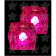 LED Light Up Ice Cubes - Pink - LED Light Up Ice Cubes - Pink