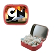 Small Hinged Candy Tin with Sugar Free Gum