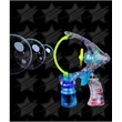 BLANK LED Jumbo Bubble Gun with Sound - BLANK LED Jumbo Bubble Gun with Sound