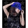 BLANK LED Sequin Fedora - Blue - BLANK LED Sequin Fedora - Blue