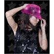 BLANK LED Sequin Fedora - Hot Pink - BLANK LED Sequin Fedora - Hot Pink