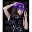 BLANK LED Sequin Fedora - Purple - BLANK LED Sequin Fedora - Purple