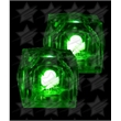 BLANK LED Light Up Ice Cubes - Green - BLANK LED Light Up Ice Cubes - Green