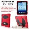 PureArmor iPad 2/3/4 Case (Red) -