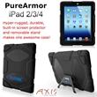PureArmor iPad 2/3/4 Case (Black) -