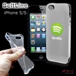 BeltLine for iPhone 5/C (Clear Frosted) - Protective and flexible high-quality case for the iPhone 4GS, 5/S and 5C