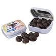 Pocket Hinged Tin with Chocolate Espresso Beans