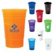 20 oz. Party Cup - 20 oz. translucent polypropylene party cup.
