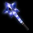 "Huge Blue  12"" Flashing LED Light Up Glow Star Wand"