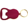 Round bottle opener  key chain