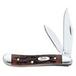 Chestnut Bone CV Peanut - Peanut knife, clip and pen blades.