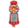 """Gumball Machine 9 inch with Chocolate Candy - 9"""" gumball machine filled with chocolate drops."""