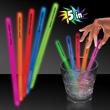 "5"" Single Color Glow Light Up Swizzle Stick - 5"" Single color glow Light Up swizzle stick bar accessories."