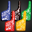 Inflatable We're Number One Hand Variety Pack