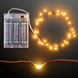 "76"" Amber LED Wire String Lights"