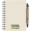 EcoBooks (TM) - Small EcoNotes with EcoPort & Pen