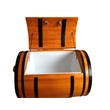 55 liter wooden barrel ice cooler