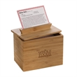 Zest 4x6 Recipe Box
