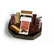 Chocolate Lovers Antique Basket - Chocolate cookies, panned goods, biscotti and bars. Sold blank.