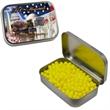 Large Hinged Tin with Colored Candy