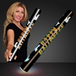 """Multicolor Happy Halloween Light Up Foam Cheer Sticks - 16"""" Happy Halloween LED Foam Cheer Sticks Has Multiple Multicolor Functions With A Beautifully Spooky """"Happy Halloween"""" Wrap"""