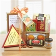 Cutting Board Complete - On bulk orders Gift Basket can be personalized with branded hangtag.