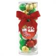 Small Gift Tube with Chocolate Balls - Small Gift Tube with Chocolate Balls.